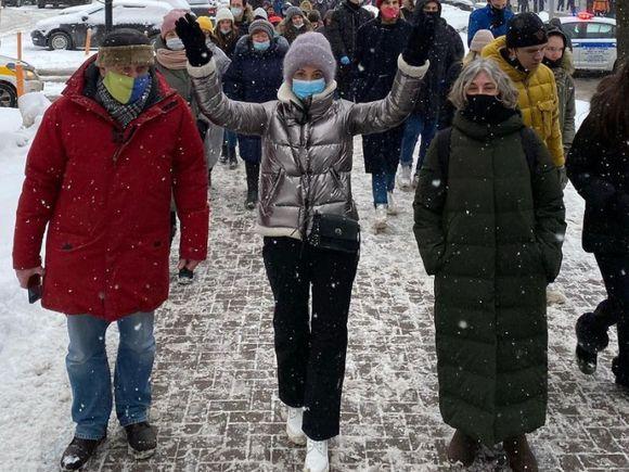 В Москве задержана Юлия Навальная