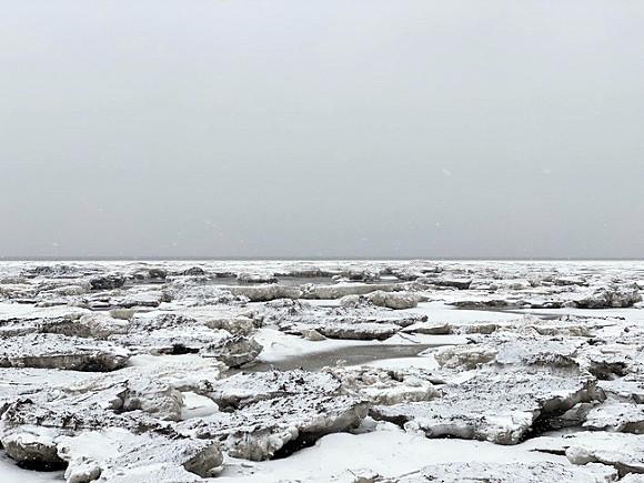 Каспийское и Азовское моря начали покрываться льдом в аномальные сроки