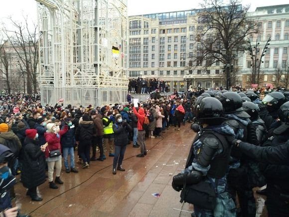 Мосгорсуд озвучил количество арестов и административных дел после митингов 23 января