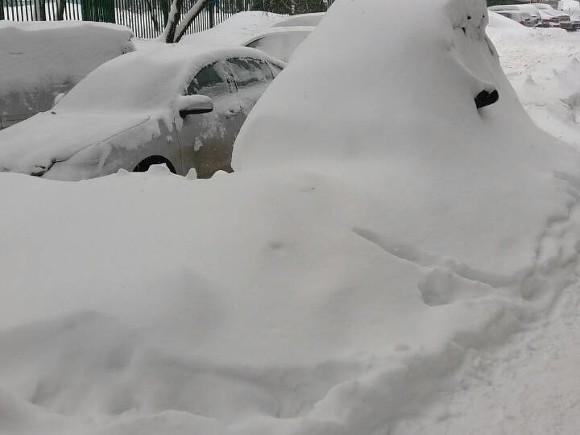 Синоптики предупредили о рекордном снегопаде в Москве