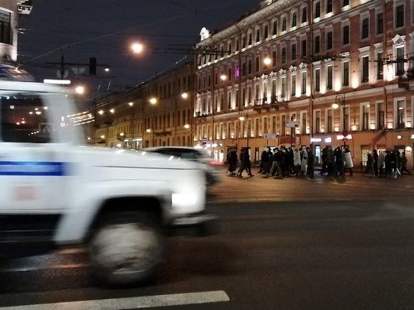 На акциях 31 января в России задержали рекордное количество участников протеста