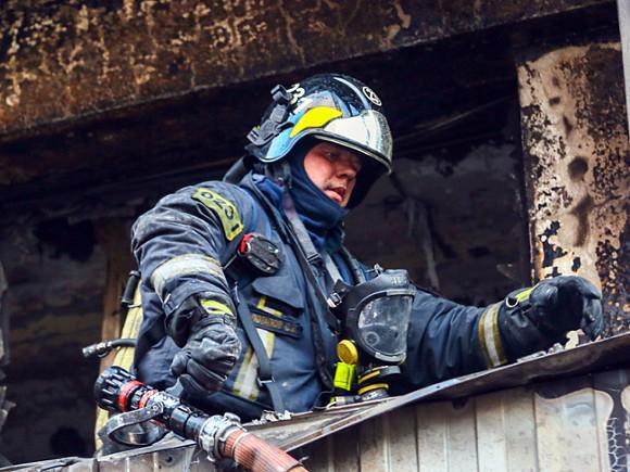 Двое детей погибли при пожаре в доме в Новой Москве
