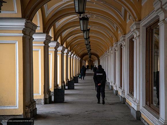 В центре Петербурга задержали пятерых человек