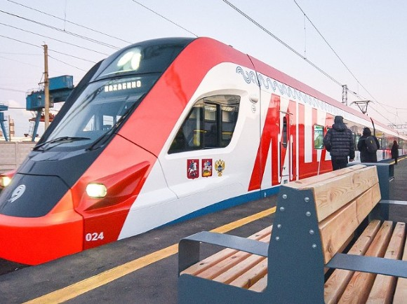 Собянин открыл вокзал станции Подольск на МЦД-2