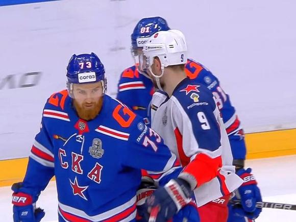 ЦСКА в третий раз побеждает СКА в полуфинале Кубка Гагарина