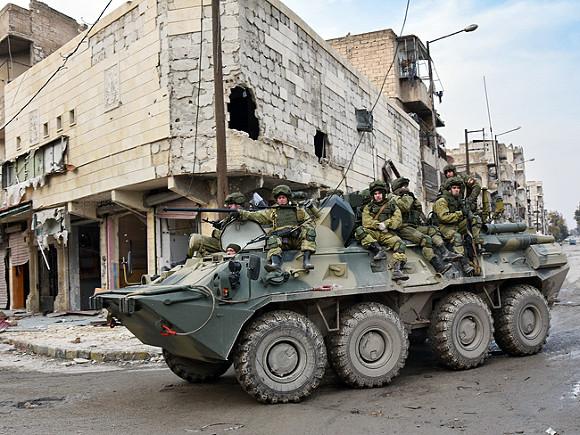 СМИ сообщили о переброске Россией нескольких сотен бойцов на северо-восток Сирии