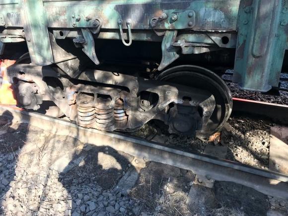 Под Мурманском поезд с апатитом попал в аварию (фото)