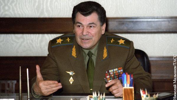 Умер последний министр обороны СССР Шапошников