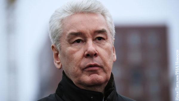 Собянин назвал потери бюджета Москвы из-за коронавируса