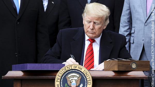 Трамп подписал закон для изгнания китайских компаний с бирж США