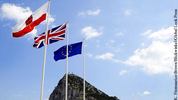 Сделка Британии и ЕС не учла спор о Гибралтаре