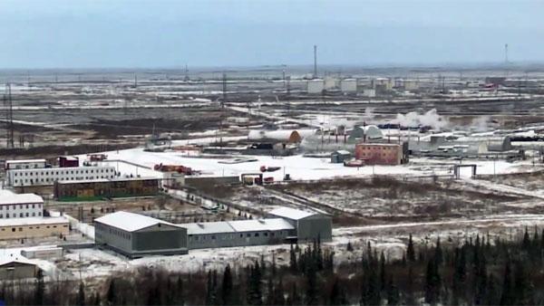 В Ненецком округе произошла утечка на месторождении нефти