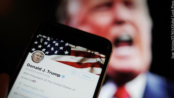 Трампа навсегда заблокировали в Twitter