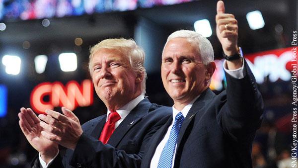 Слухи о готовности Пенса отстранить Трампа от власти в США опровергли