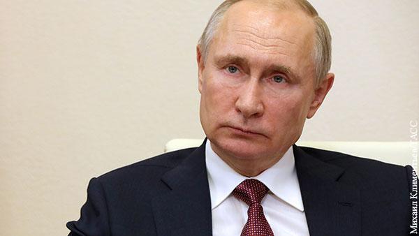 Путин поручил начать массовую вакцинацию россиян от COVID-19
