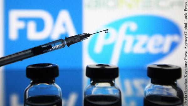 После прививки Pfizer в ФРГ несколько человек заразились коронавирусом