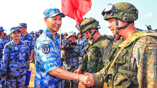 Германия назвала условия для создания военного альянса России и Китая