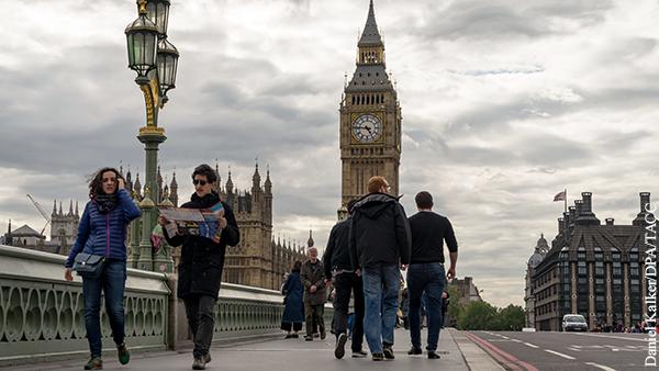 ВВП Великобритании рекордно обвалился в 2020 году