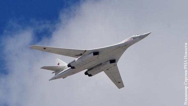 Ростех раскрыл секрет окраски стратегических ракетоносцев Ту-160