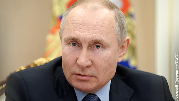 Путин назвал «хорьковыми» интересы использующих детей в своих целях