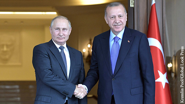 Мнения: Турция взаимодействует с Россией по принципу шведского стола