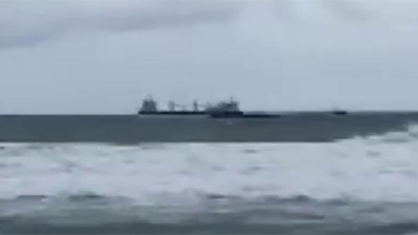 У берегов Турции затонуло российское судно