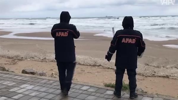 Турецкие военные отправили фрегат к месту крушения российского сухогруза