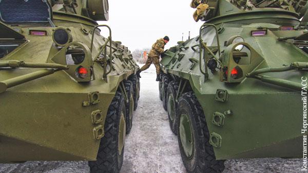 В ДНР заявили о размещении украинской техники у линии соприкосновения