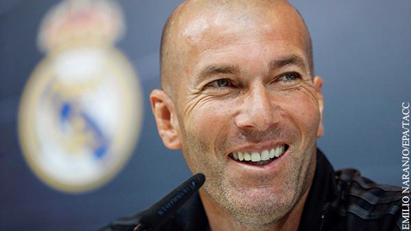 Главный тренер «Реала» Зидан заразился коронавирусом