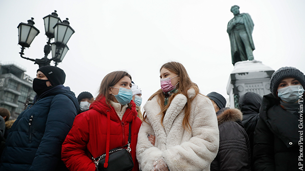 МИД прокомментировал фейк Reuters о численности незаконной акции в Москве
