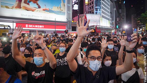 В мире: Китай и Британия поделили Гонконг