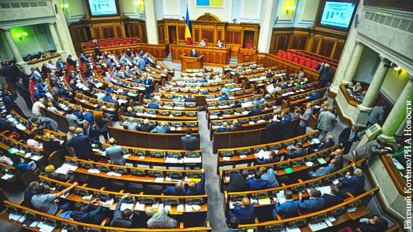 Партия Зеленского может лишиться большинства в Раде из-за американских санкций