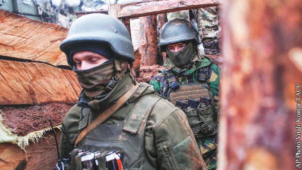 Зеленский начал проверку готовности войск в Донбассе
