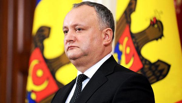 Додон обвинил западных послов во вмешательстве в выборы в Молдавии