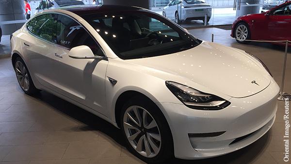 Китай запретил военным пользоваться автомобилями Tesla из-за подозрений в шпионаже