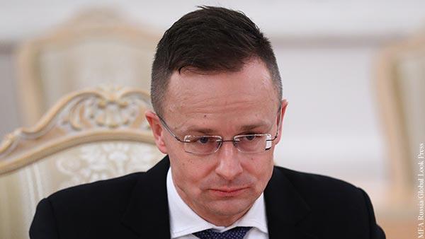 Глава МИД Венгрии рассказал о политических нападках из-за «Спутника V»