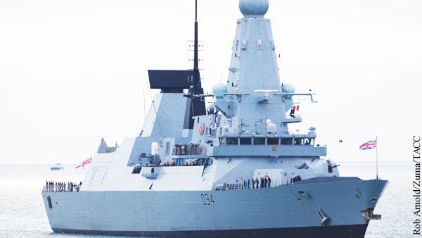 Британия заявила о планах активизироваться в Черном море и на Балтике