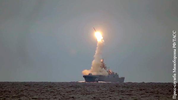 «Адмирал Горшков» начал испытания «Цирконов» в Баренцевом море