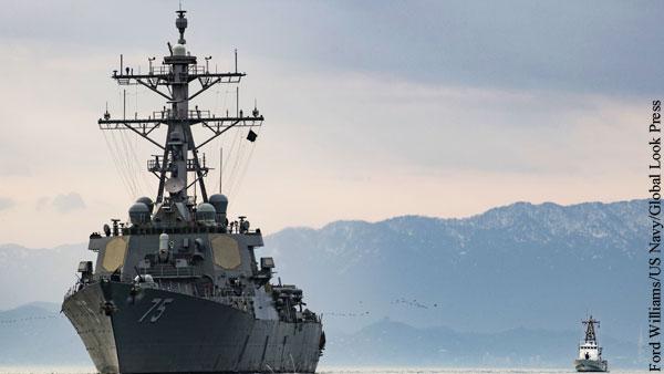 Россия призвала США отказаться от военных учений в Черном море