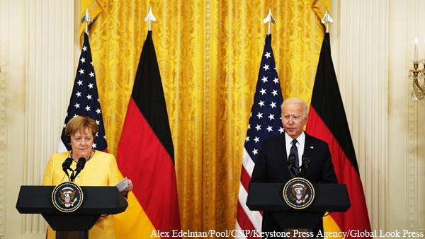 США и Германия заявили о единстве в «защите» восточного фланга НАТО от России
