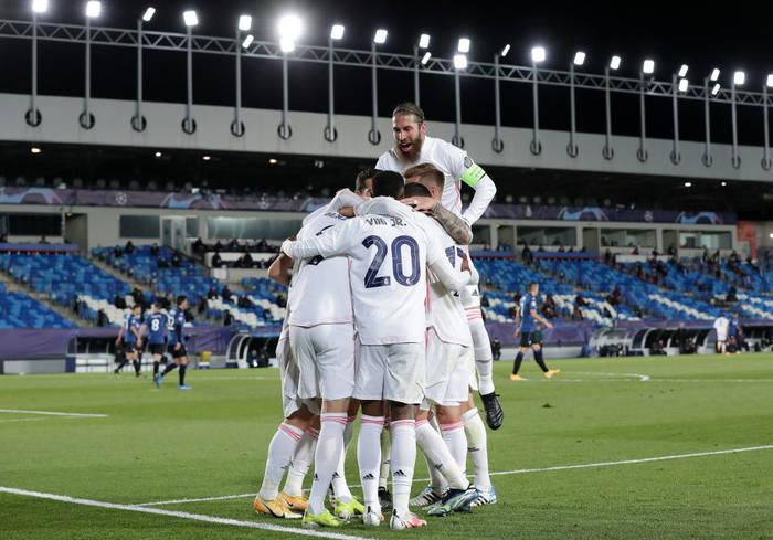 Реал уверенно обыграл Аталанту и вышел в четвертьфинал Лиги чемпионов
