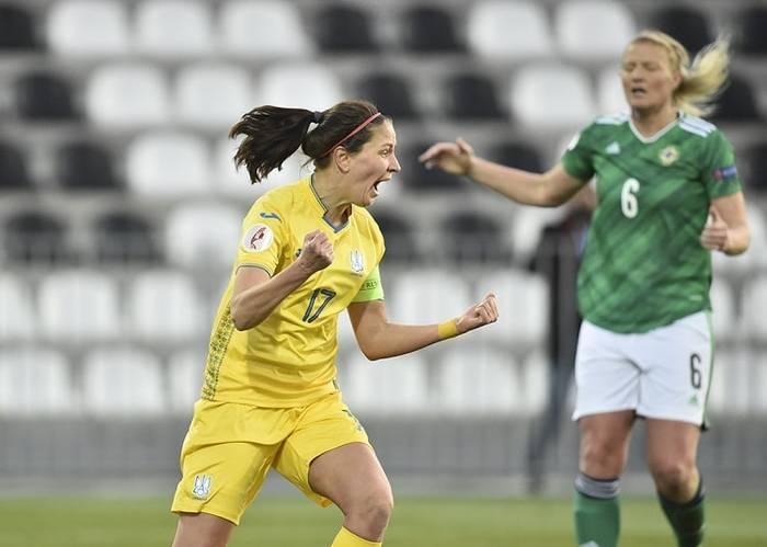 Евро-2022 среди женщин: Сборная Украины проиграла Северной Ирландии в первом матче плей-офф