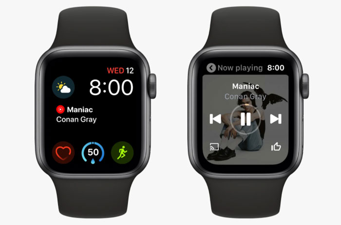 YouTube Music теперь доступен на Apple Watch