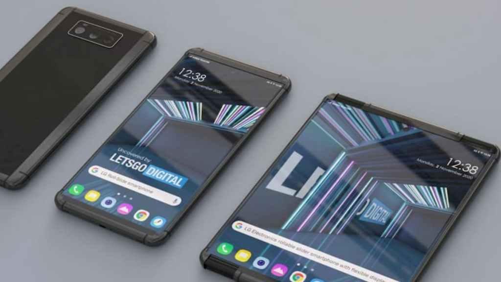 Смартфон LG Rollable с выдвижным экраном полностью рассекречен