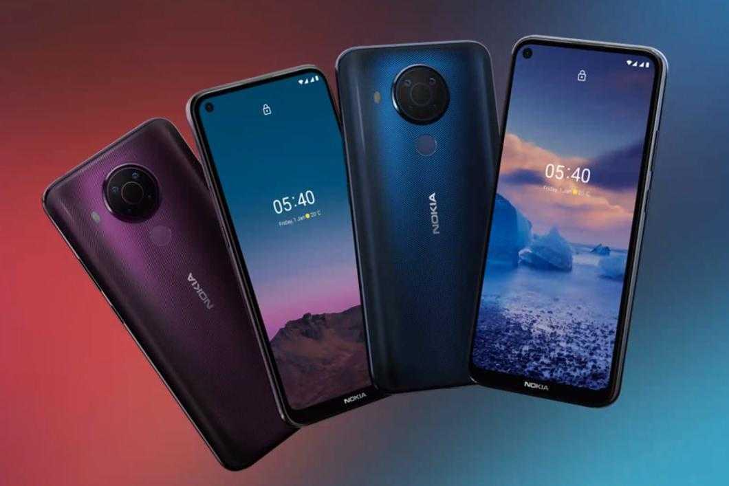 Представлен недорогой смартфон Nokia 5.4