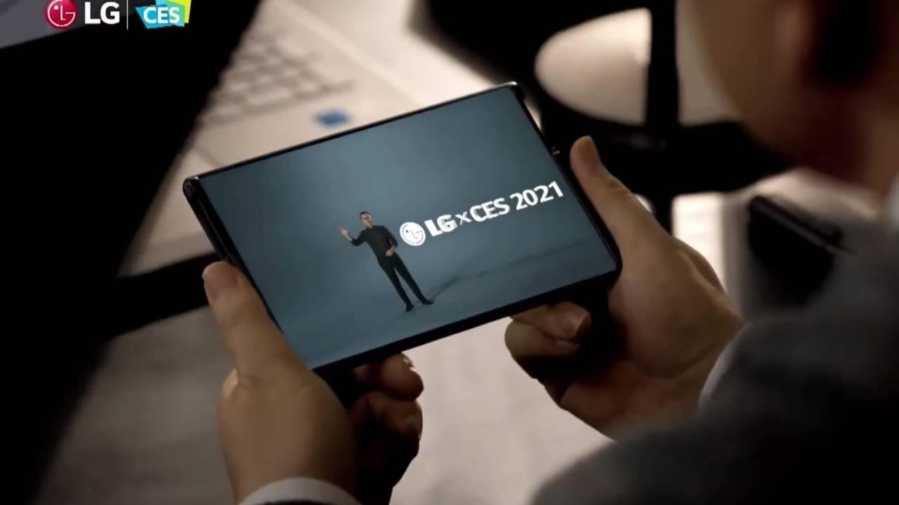 Скручивающийся смартфон LG Rollable может не появиться