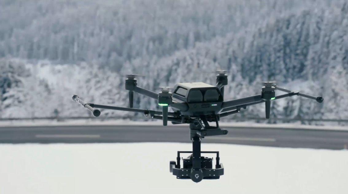CES 2021: Sonу представила дрон для профессиональной киносъёмки