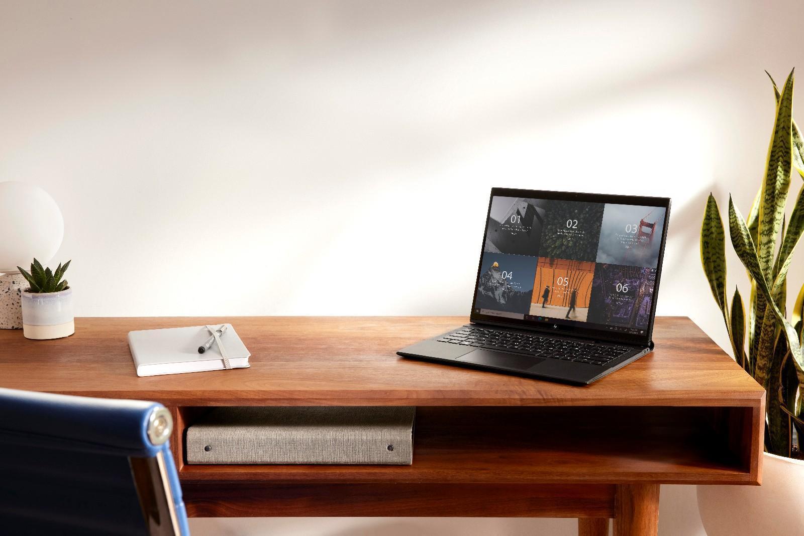 CES 2021: Деловой ноутбук HP Elite Folio в кожаном корпусе использует процессор Snapdragon