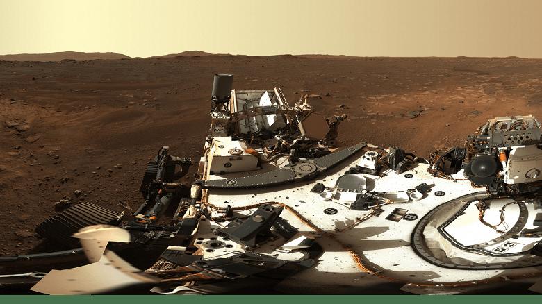 Первые фотографии с Марса в высоком разрешении