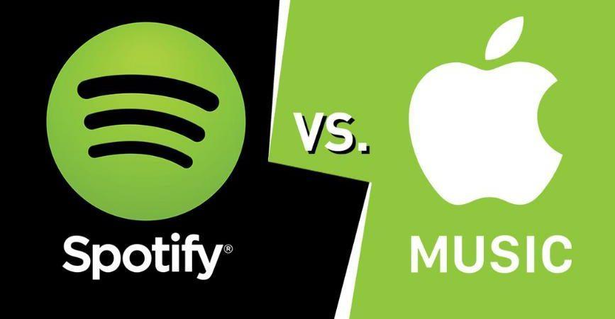 Spotify обошёл Apple Music по популярности в России